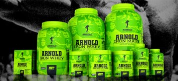 The Schwarzenegger Signature Supplement Series. The very same supplements Arnold used to become a champion back in the 60's....oh wait.