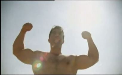 """The homage to Pumping Iron's """"King of Iron Hill"""" scene was a neat touch."""