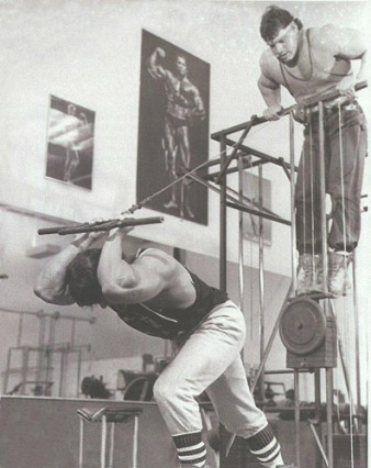 The Barbarian Brothers were beasts in the gym.