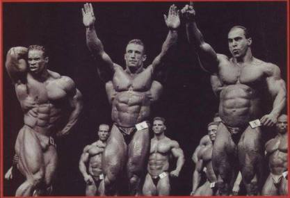 90's Bodybuilding was epic, but 50% of the people in this photo are now dead.