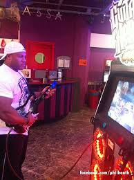When asked his talents and interested outside of bodybuilding, current Mr Olympia, Phil Heath replied that he loved to play Guitar Hero....