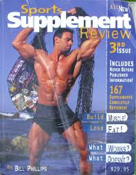 Phillip's supplement bible was really a plug for his bullshit products.