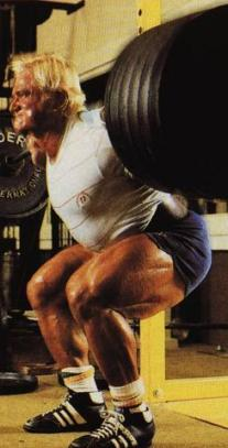 Tom Platz could take many powerlifters 1RM on the squat and shove it up their asses 25 times.
