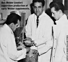 Weider's Research Clinic was nothing but a broom closet.