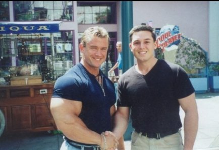 Me and Lee - Streets of Santa Monica, 1999.