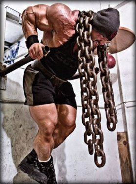Chain Training - great when used in conjunction with lower body training...and not much else.