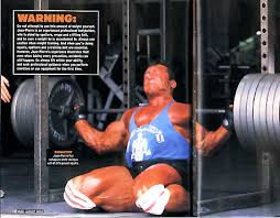 I wonder if Jean-Pierre Fux wished he had ditched the heavy squats before this training mishap happened.