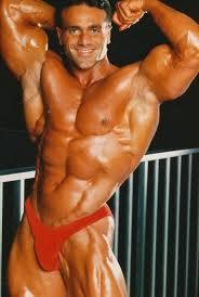 80's Australian Bodybuilder, John Terrili - David Shaw's alter ego?