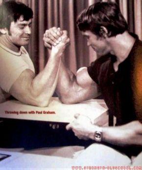 arm wrestling paul graham