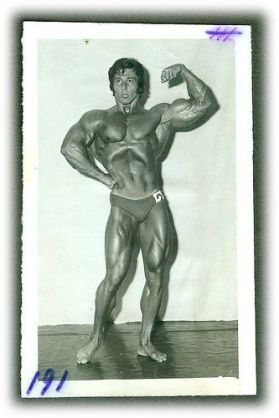 frank zane pose arms back