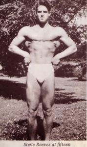 young steve reeves